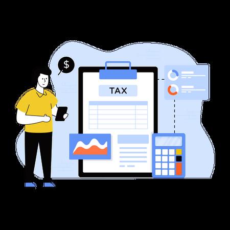 Tax Audit Illustration