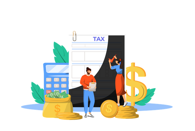 Tax Payment Guideline Illustration