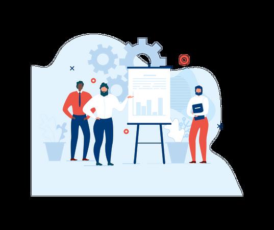 Teamwork and Collaboration Benefits Illustration