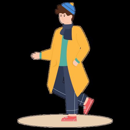Teenager Illustration