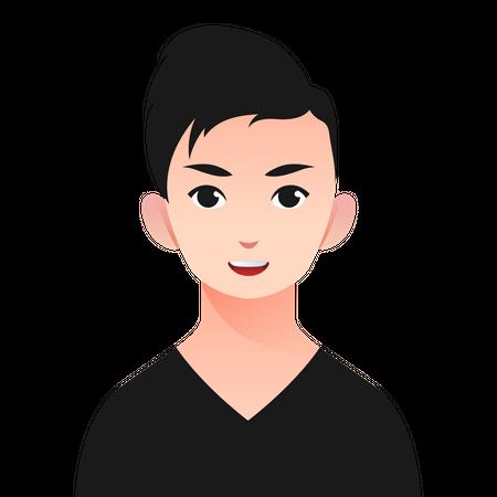 Teenager Boy Illustration
