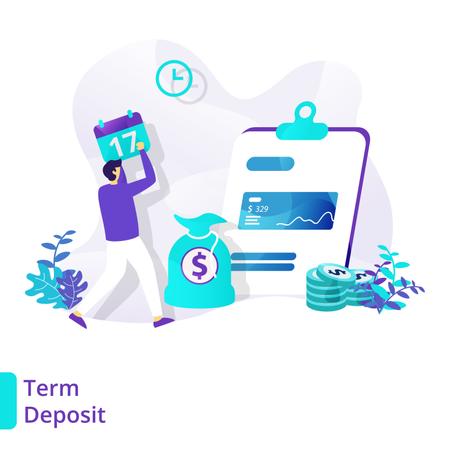 Term Deposit Illustration