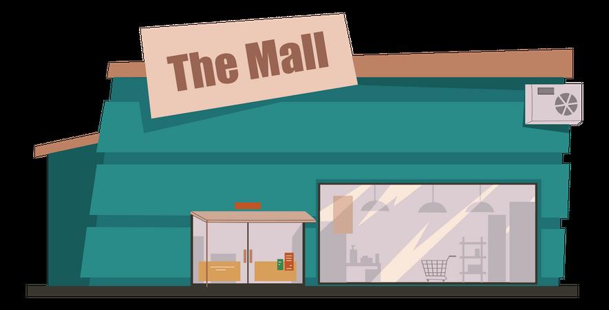 The Mall Illustration