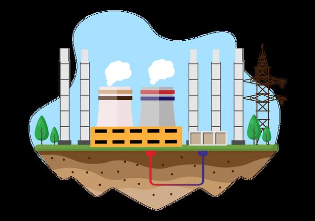 Thermal Energy Illustration