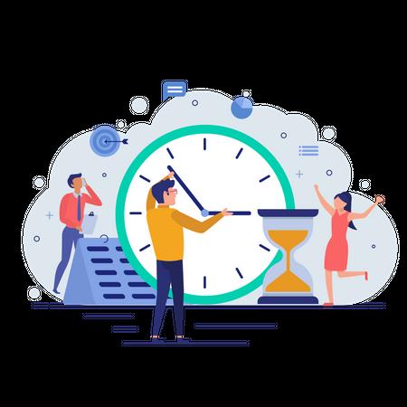 Time Managment Illustration
