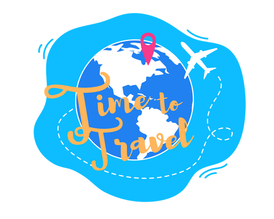 Time to Travel Illustration
