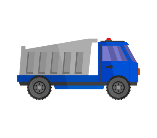 Tipper Truck Illustration
