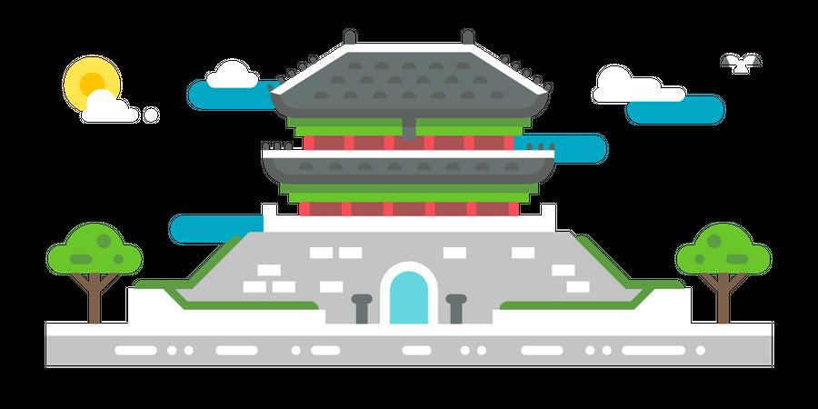 Tongyeong hall Illustration