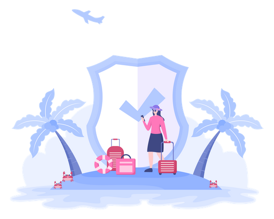 Tour Insurance Policy Illustration