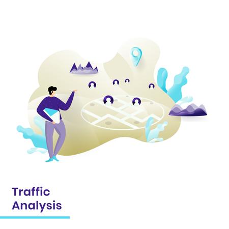 Traffic Analysis Illustration
