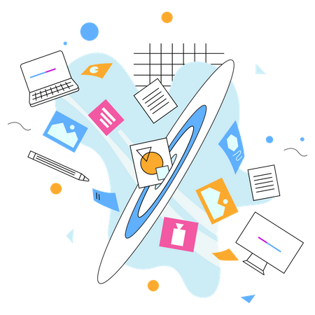 Transfer File Illustration