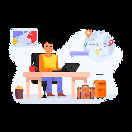 Travel Advisor Illustration
