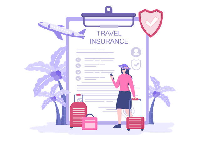 Travel Insurance Policy Illustration