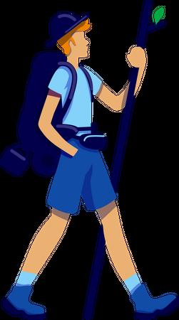 Trekker Illustration