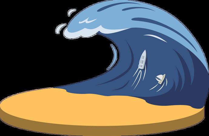 Typhoon Illustration