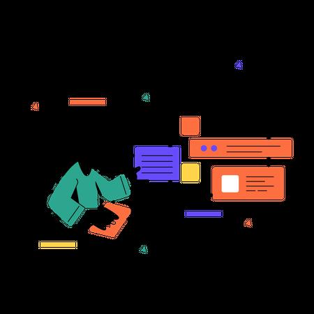 UI-UX Designing Illustration