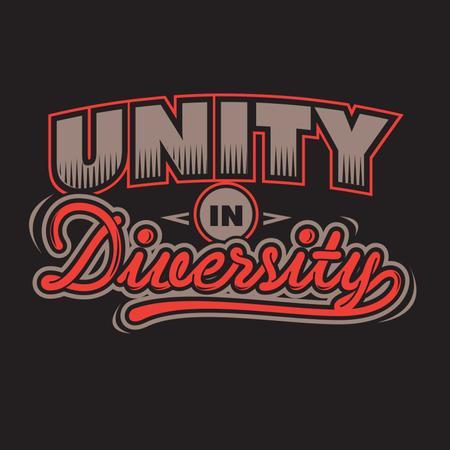 Unity in Diversity Illustration