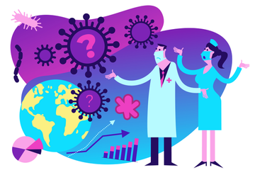Pandemic Coronavirus Illustration Pack