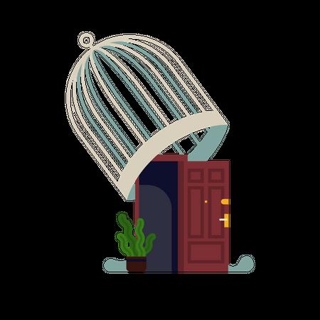 Unlocking state Illustration