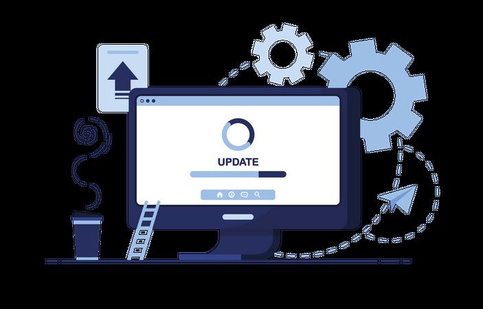 Update system Illustration
