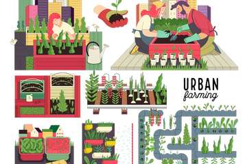 Farming Pattern Illustration Pack