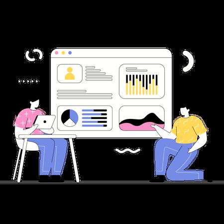 User Analytics Illustration