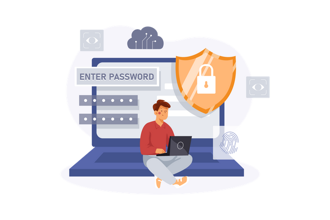 User data protection Illustration