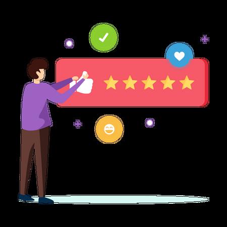 User feedback Illustration