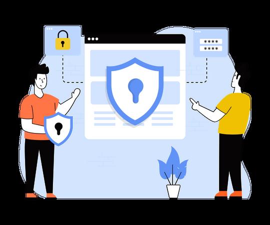 User privacy Illustration