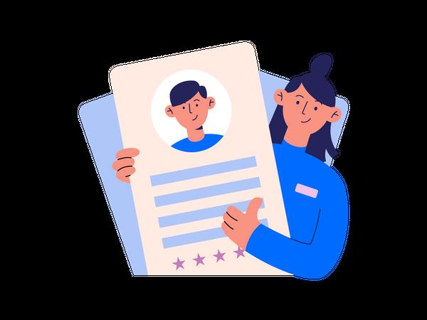 User Rating Illustration