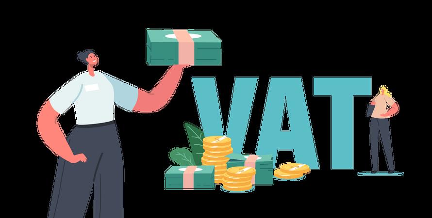 Value Added Tax Return Illustration