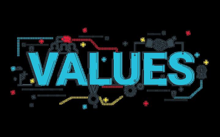 Values Illustration