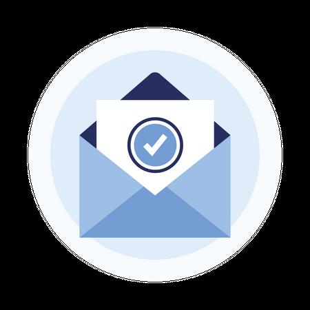 Verify email Illustration