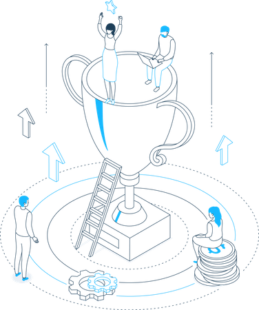 Victory Illustration