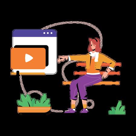 Video Tutorials Illustration