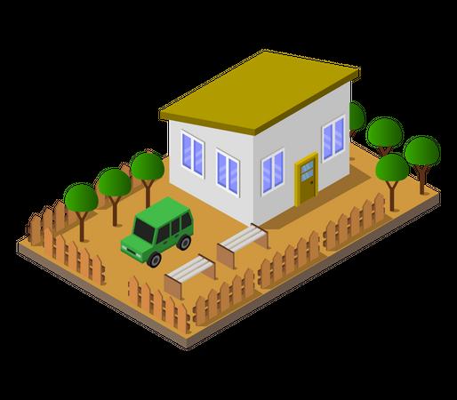 Villa Illustration