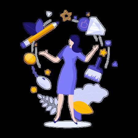 Virtual Design Illustration