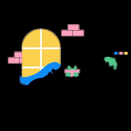Virtual Gift Illustration