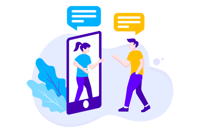 Virtual Relationship Illustration
