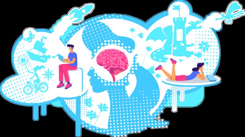 Visualization skills Illustration