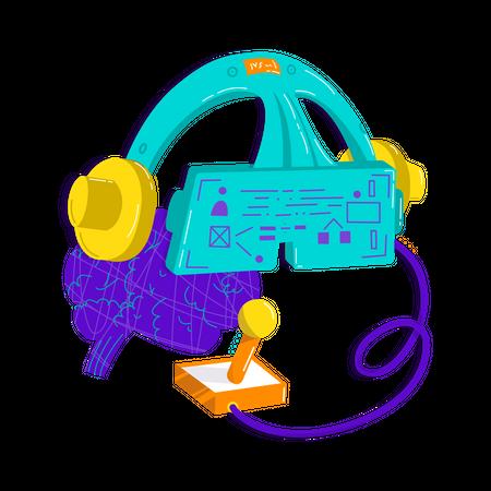 VR Tech Illustration