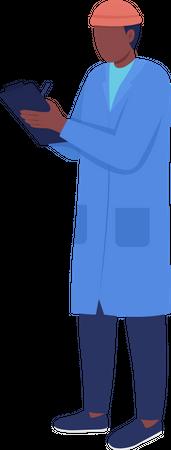Warehouse manager Illustration