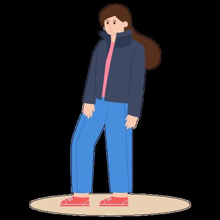 Warm Clothes Illustration