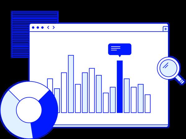 Web Analytics Illustration