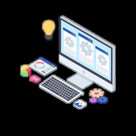 Web Configuration Illustration