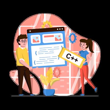 Web Design Illustration