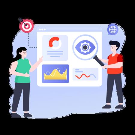 Web Monitoring Illustration