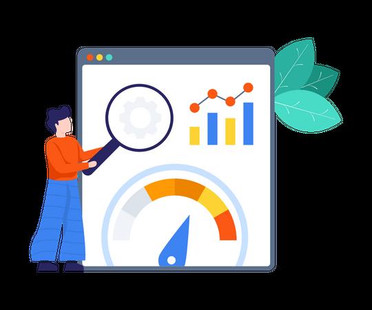 Web Optimization Illustration