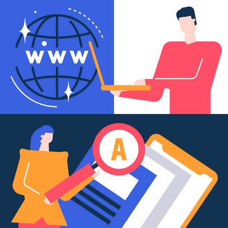 Web search Illustration