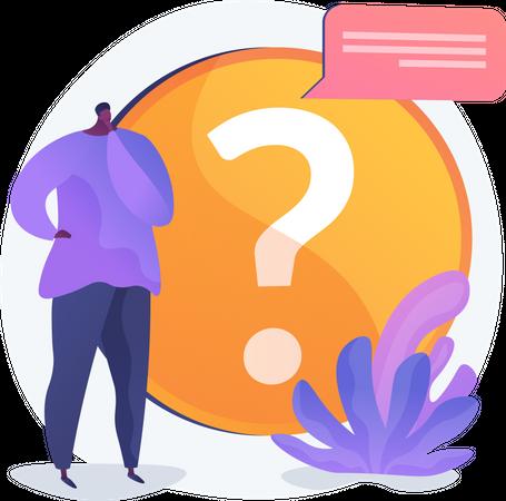 Website FAQ Illustration